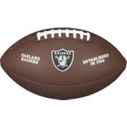 Wilson Oakland Raiders Composite Official-Size Football