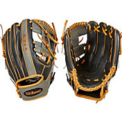 "Wilson 11"" Youth Lil' Pedroia A550 Series Glove"