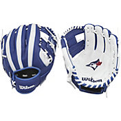 "Wilson 10"" A200 Toronto Blue Jays T-Ball Glove"