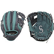 "Wilson 10"" A200 Seattle Mariners T-Ball Glove"
