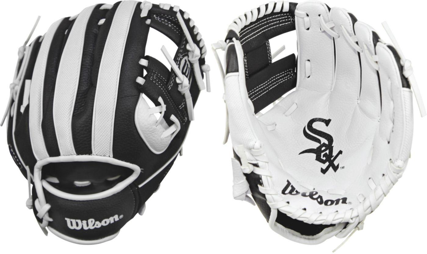 """Wilson 10"""" A200 Chicago White Sox T-Ball Glove"""