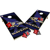 Wild Sports 2' x 4'  Baltimore Ravens Tailgate Bean Bag Toss Shields