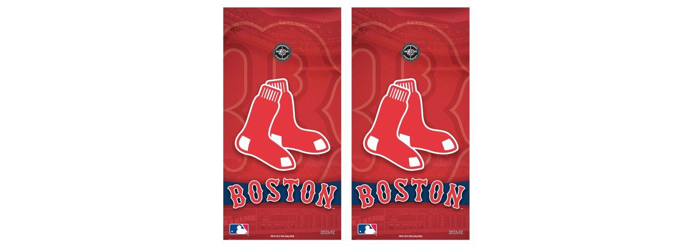 Wild Sports Boston Redsox Tailgate Bean Bag Toss Shield Decals