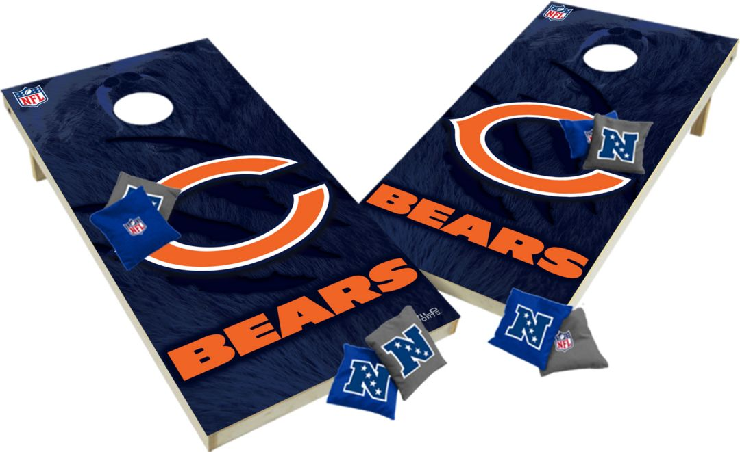 Swell Wild Sports 2 X 4 Chicago Bears Tailgate Bean Bag Toss Shields Gmtry Best Dining Table And Chair Ideas Images Gmtryco