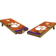 Wild Sports 2' x 4' Clemson Tigers Tailgate Bean Bag Toss Shields