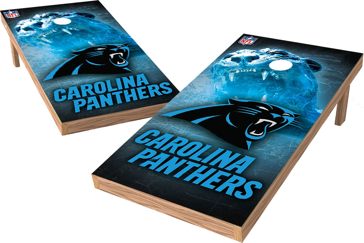Wild Sports Carolina Panthers XL Tailgate Bean Bag Toss Shields