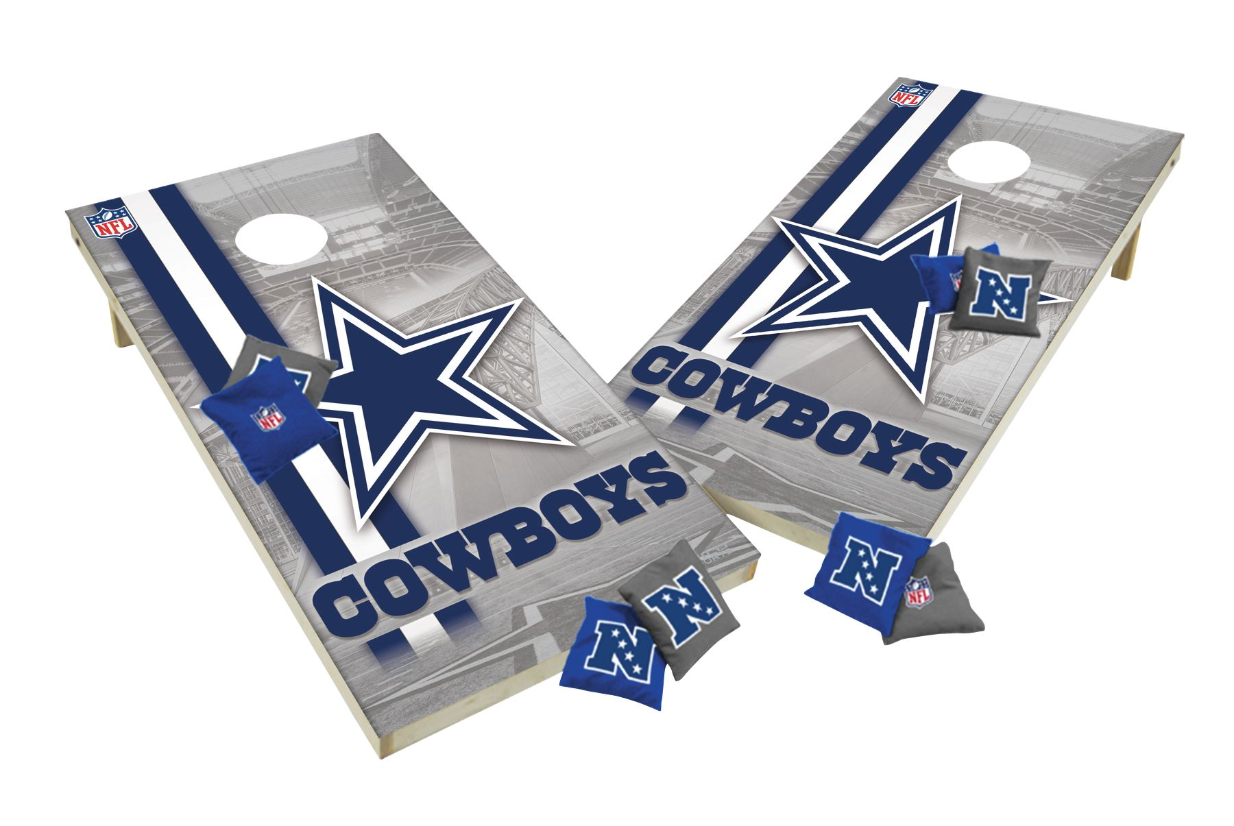 Wild Sports Dallas Cowboys Xl Tailgate Bean Bag Toss