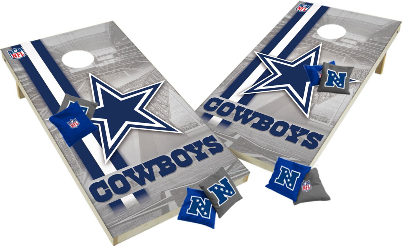 Wild Sports 2' x 4'  Dallas Cowboys Tailgate Bean Bag Toss Shields