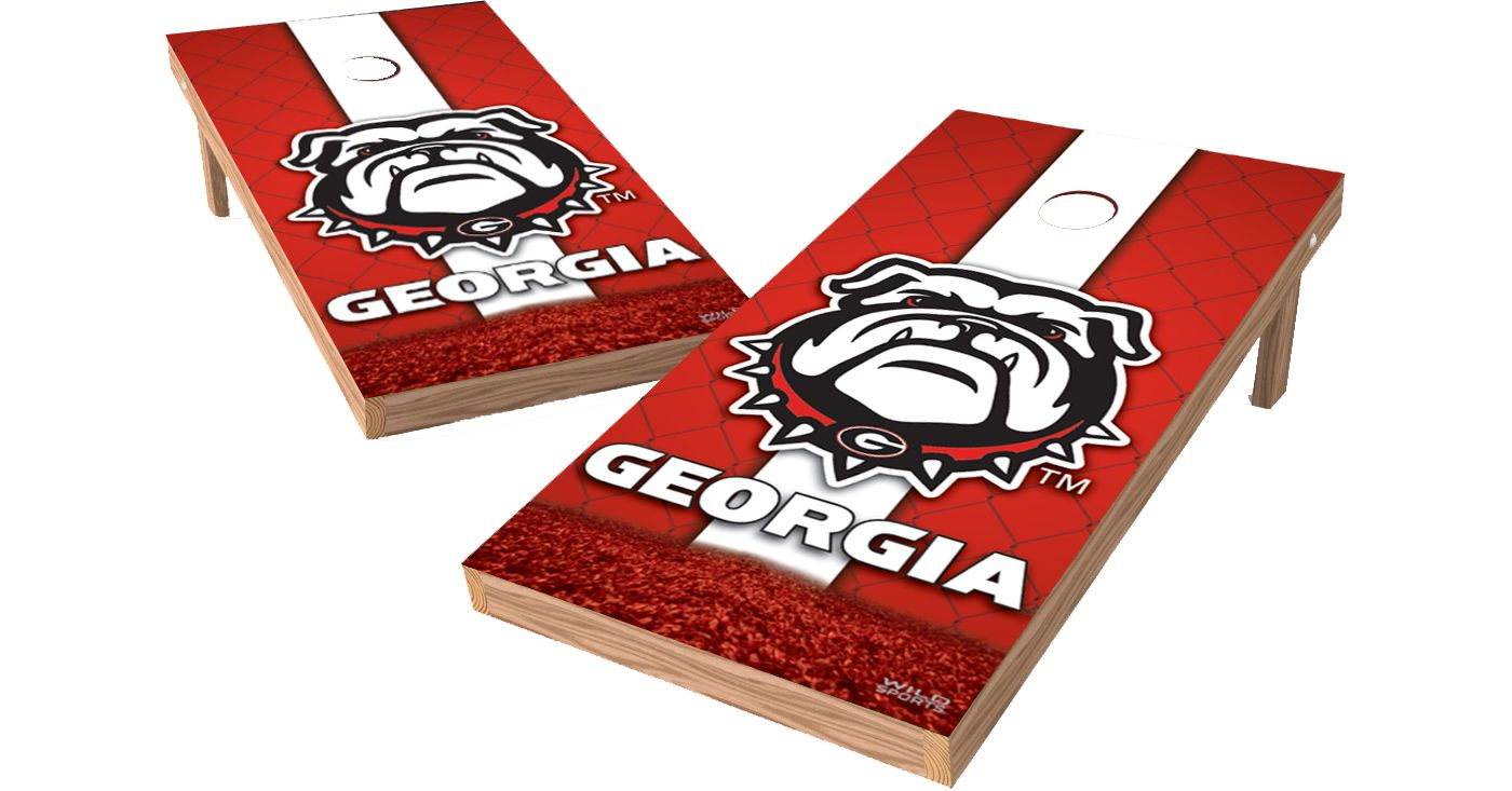 Wild Sports Georgia Bulldogs XL Tailgate Bean Bag Toss Shields