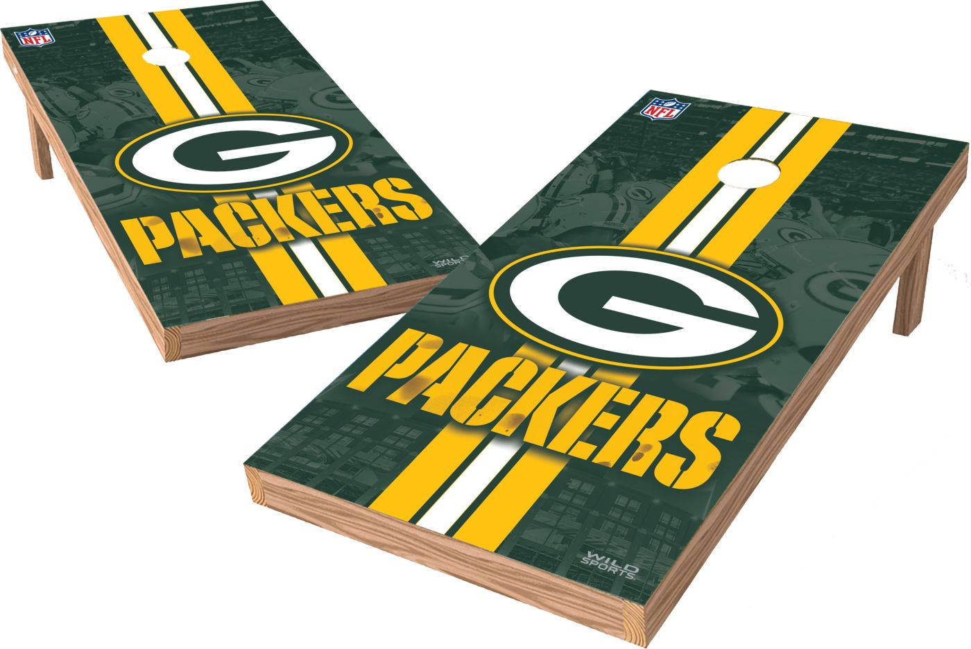 Wild Sports Green Bay Packers XL Tailgate Bean Bag Toss Shields