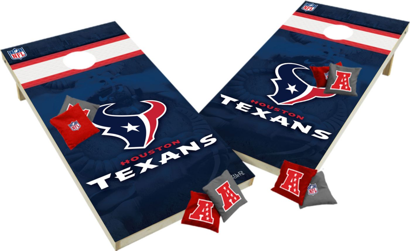 Wild Sports 2' x 4'  Houston Texans Tailgate Bean Bag Toss Shields