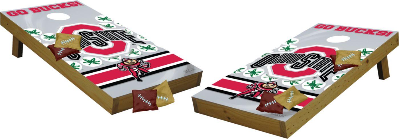 Wild Sports 2' x 4'  Ohio State Buckeyes Tailgate Bean Bag Toss Shields