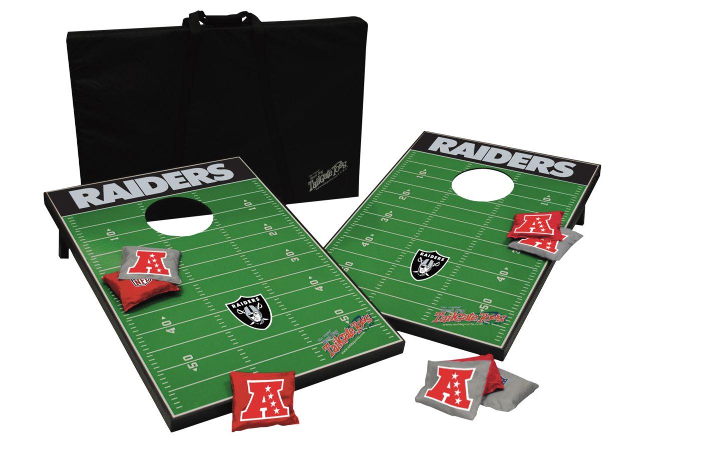 Wild Sports 2' x 3' Oakland Raiders Tailgate Bean Bag Toss