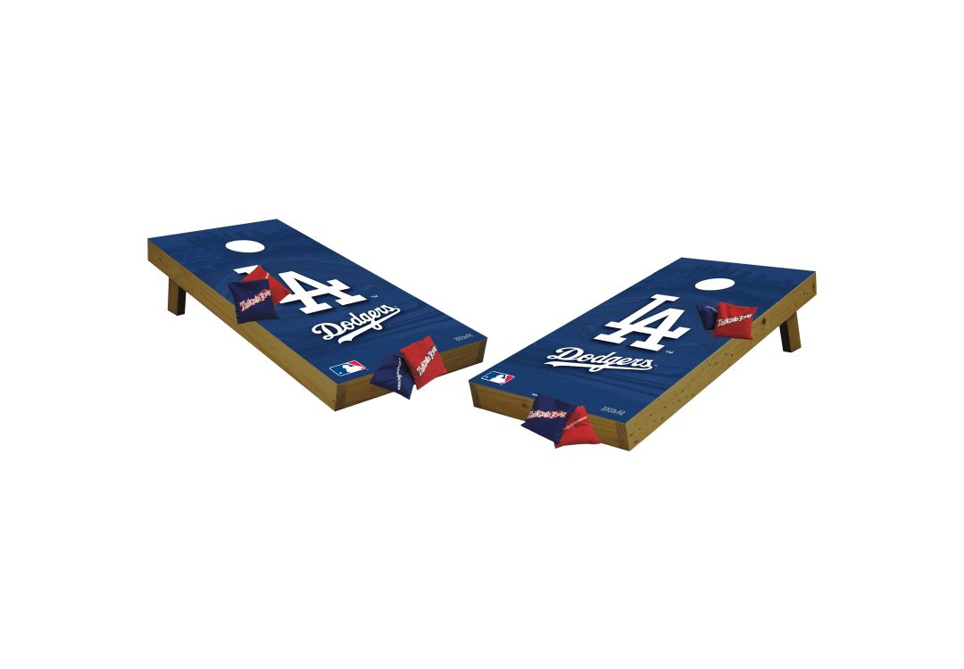 Magnificent Wild Sports 2 X 4 Los Angeles Dodgers Tailgate Bean Bag Toss Shields Evergreenethics Interior Chair Design Evergreenethicsorg