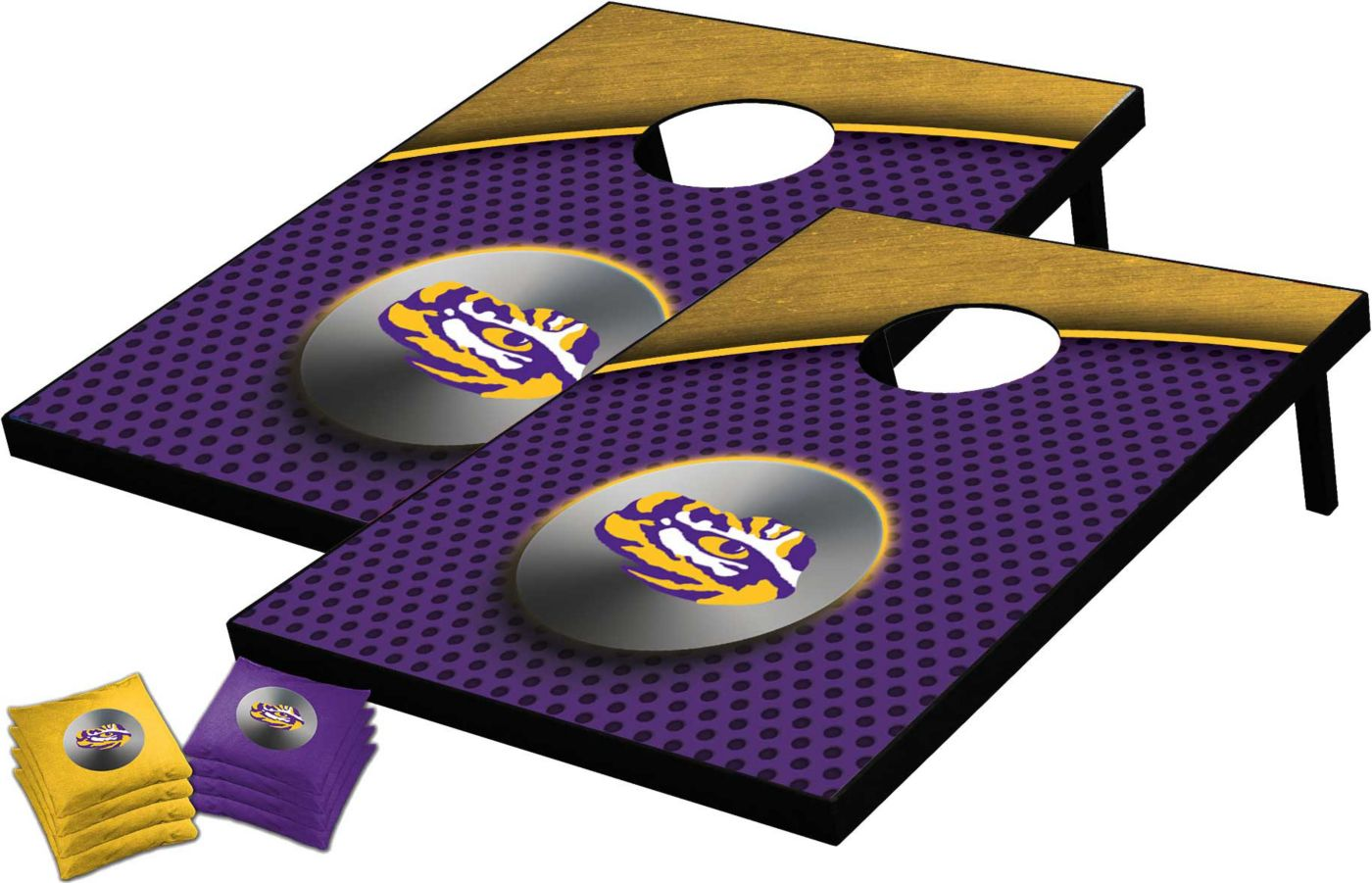 Wild Sports 2' x 3' LSU Tigers Tailgate Toss Cornhole Set