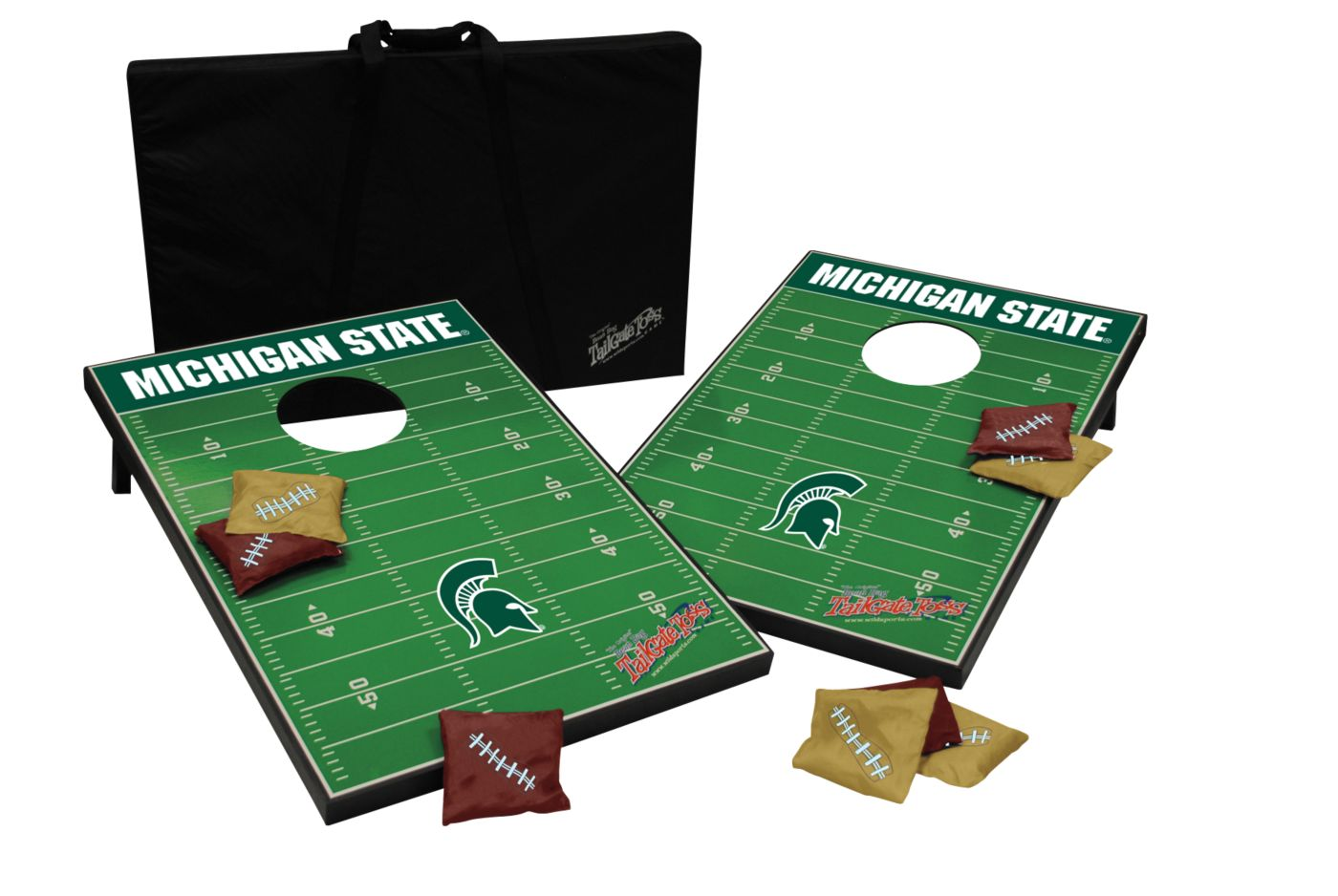 Wild Sports 2' x 3' Michigan State Tailgate Bean Bag Toss