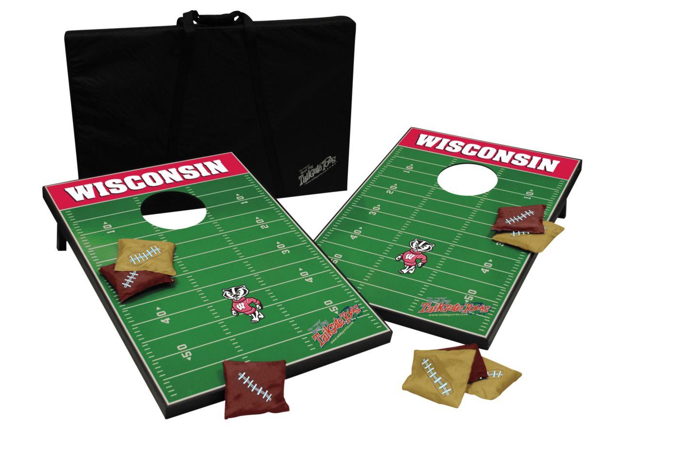 Wild Sports 2' x 3' Wisconsin Badgers Tailgate Bean Bag Toss