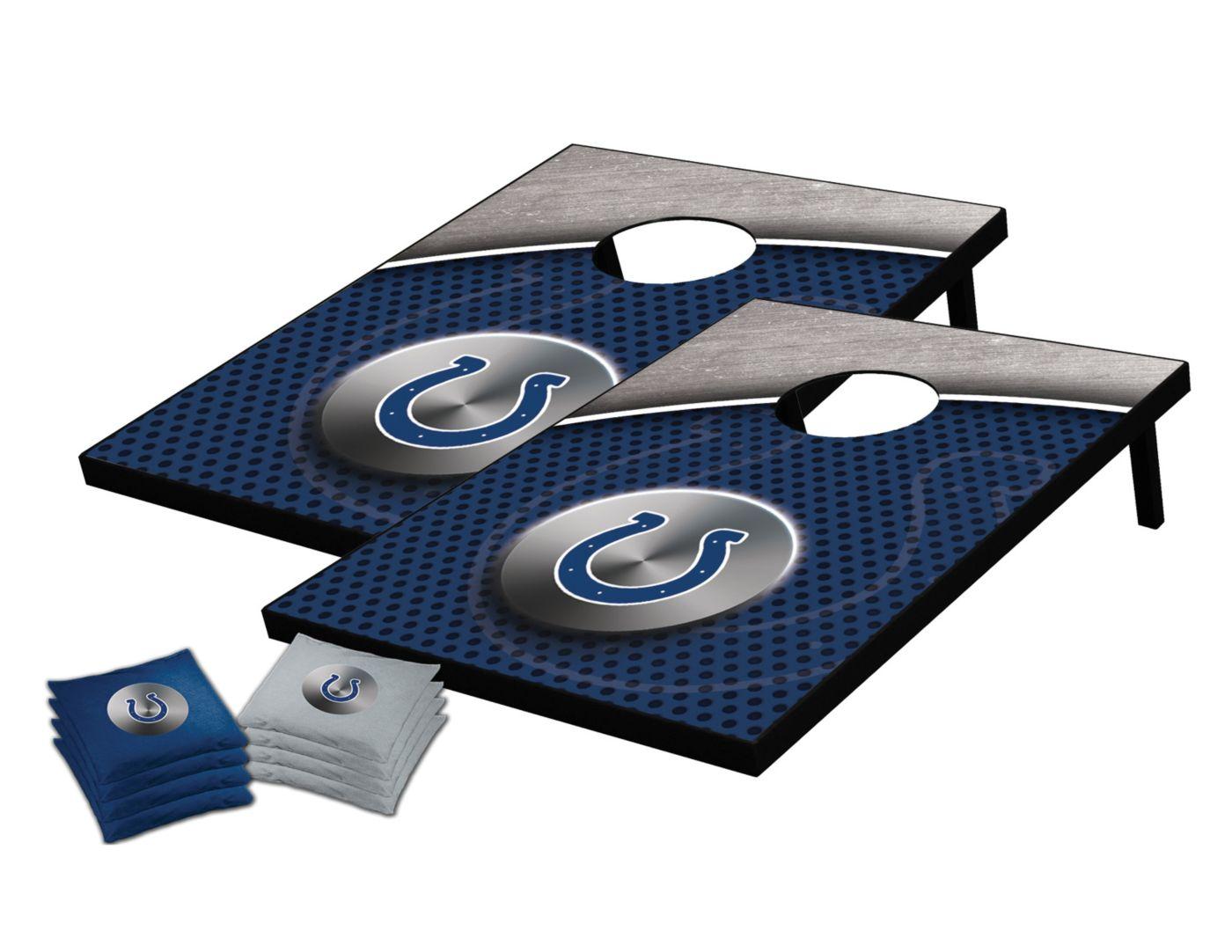 Wild Sports 2' x 3' Indianapolis Colts Tailgate Toss Cornhole Set
