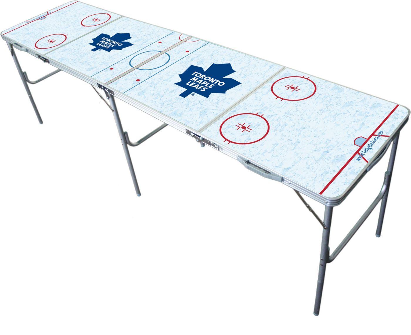 Wild Sports Toronto Maple Leafs 2' x 8' Tailgate Table