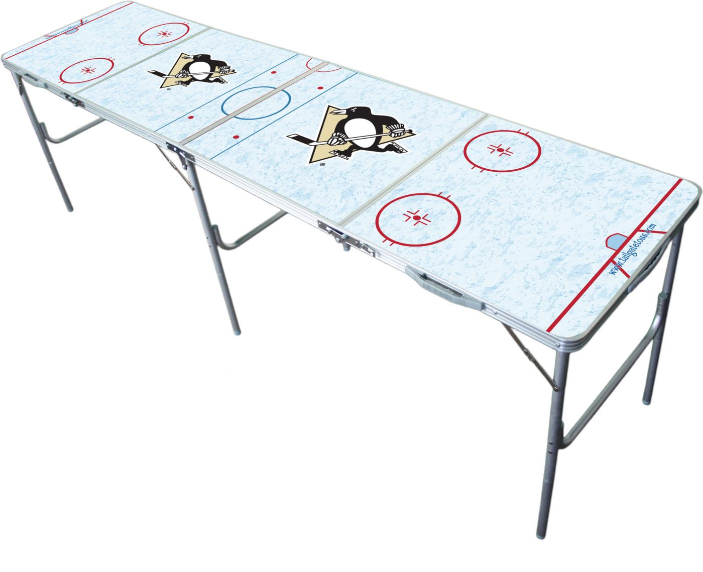 Wild Sports Pittsburgh Penguins 2' x 8' Tailgate Table