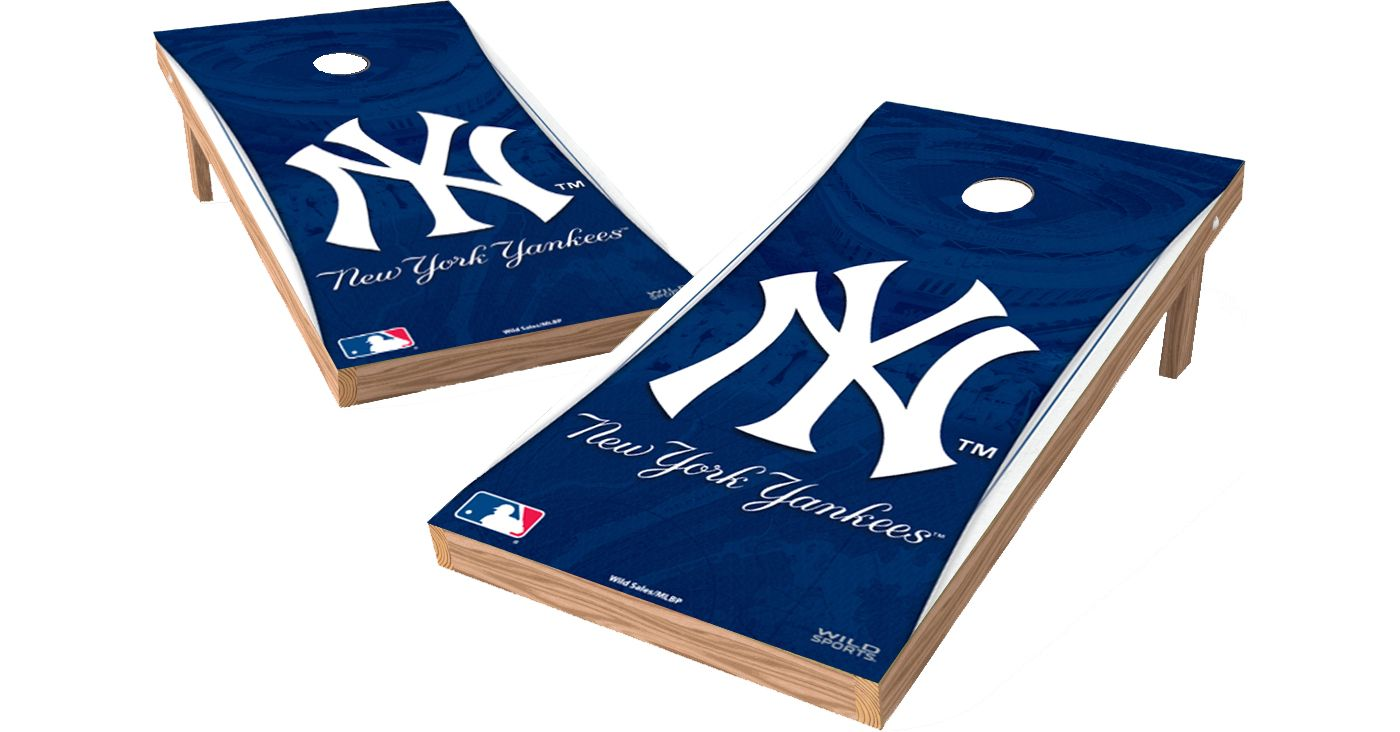 Wild Sports 2' x 4' New York Yankees XL Tailgate Bean Bag Toss Shields