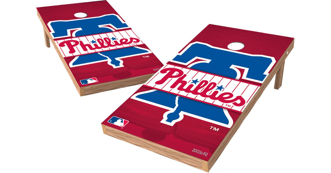 Wild Sports 2' x 4' Philadelphia Phillies XL Tailgate Bean Bag Toss Shields