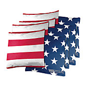 Wild Sports Stars and Stripes Cornhole Bean Bags