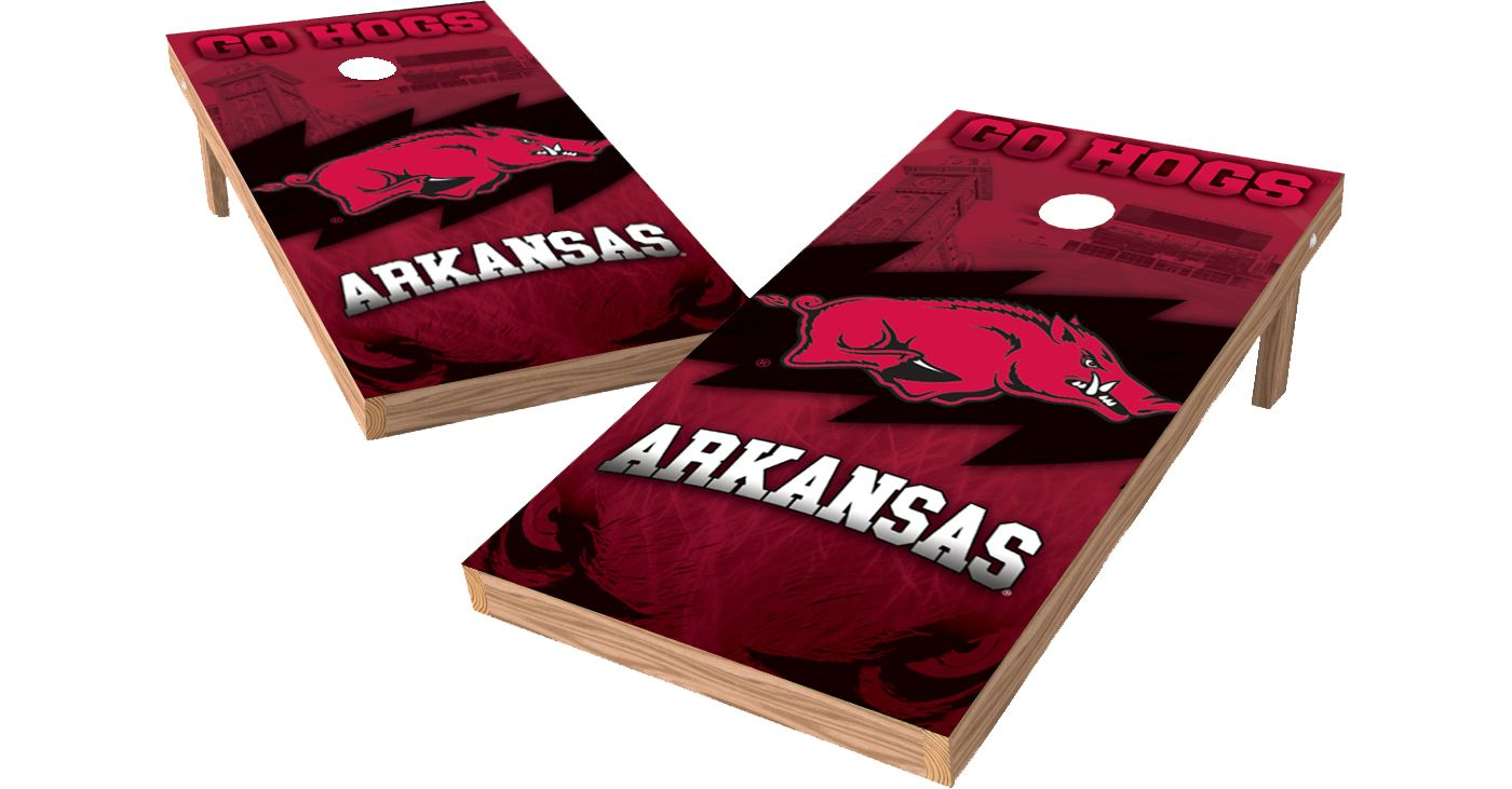 Wild Sports 2' x 4' Arkansas Razorbacks XL Tailgate Bean Bag Toss Shields