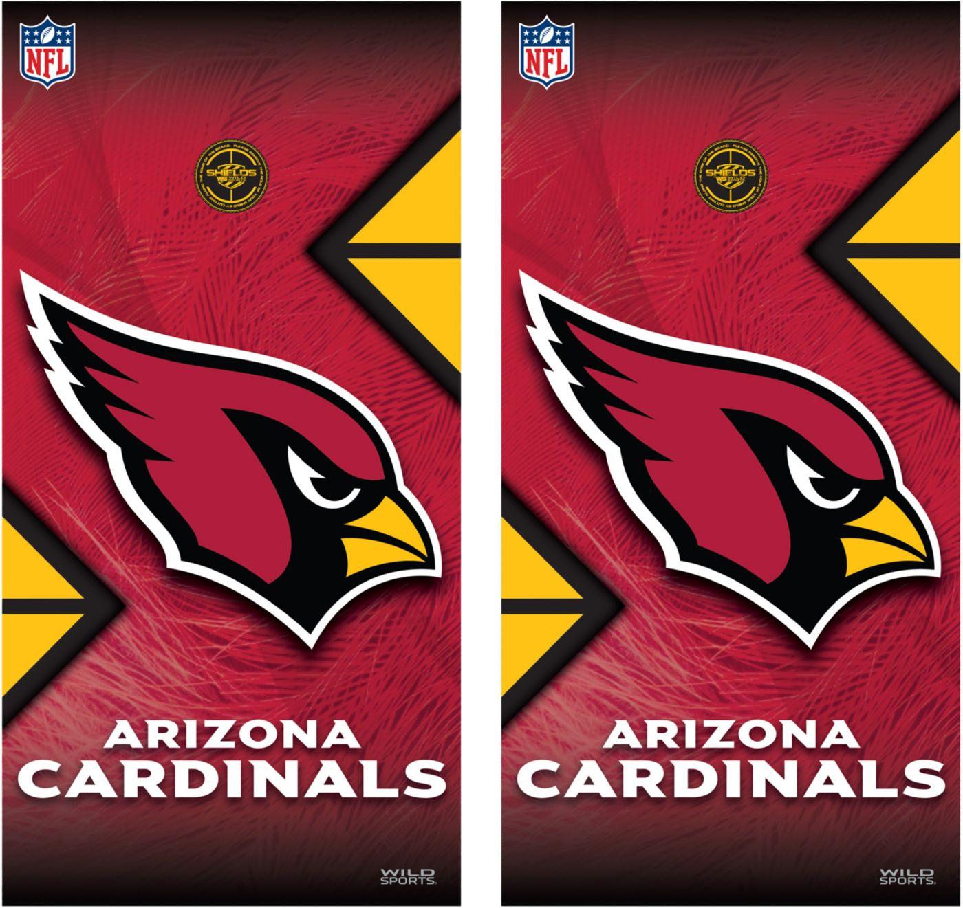 Wild Sports 2' x 4'  Arizona Cardinals Tailgate Bean Bag Toss Shields