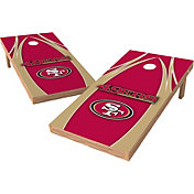 Wild Sports 2' x 4' San Francisco 49ers XL Tailgate Bean Bag Toss Shields