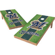 Wild Sports 2' x 4' Milwaukee Brewers XL Tailgate Bean Bag Toss Shields