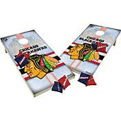 Wild Sports 2' x 4' Chicago Blackhawks XL Tailgate Bean Bag Toss Shields