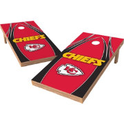 Wild Sports 2' x 4' Kansas City Chiefs XL Tailgate Bean Bag Toss Shields