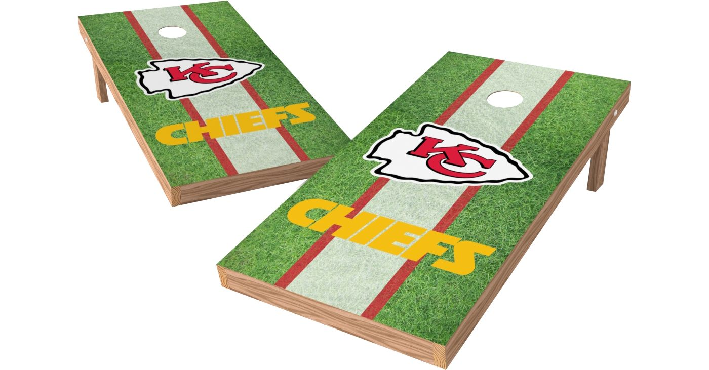Wild Sports 2 X 4 Kansas City Chiefs Xl Tailgate Bean