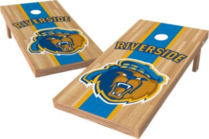 Wild Sports 2' x 4' California Riverside Highlanders XL Tailgate Bean Bag Toss Shields