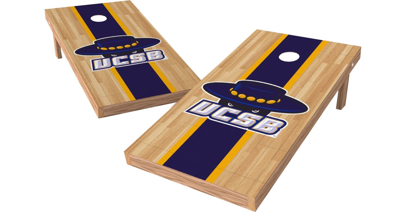 Wild Sports 2' x 4' UC Santa Barbara Gauchos XL Tailgate Bean Bag Toss Shields
