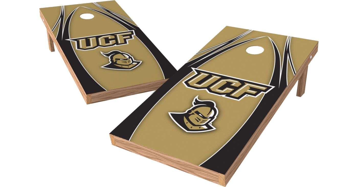 Wild Sports 2' x 4' UCF Knights XL Tailgate Bean Bag Toss Shields