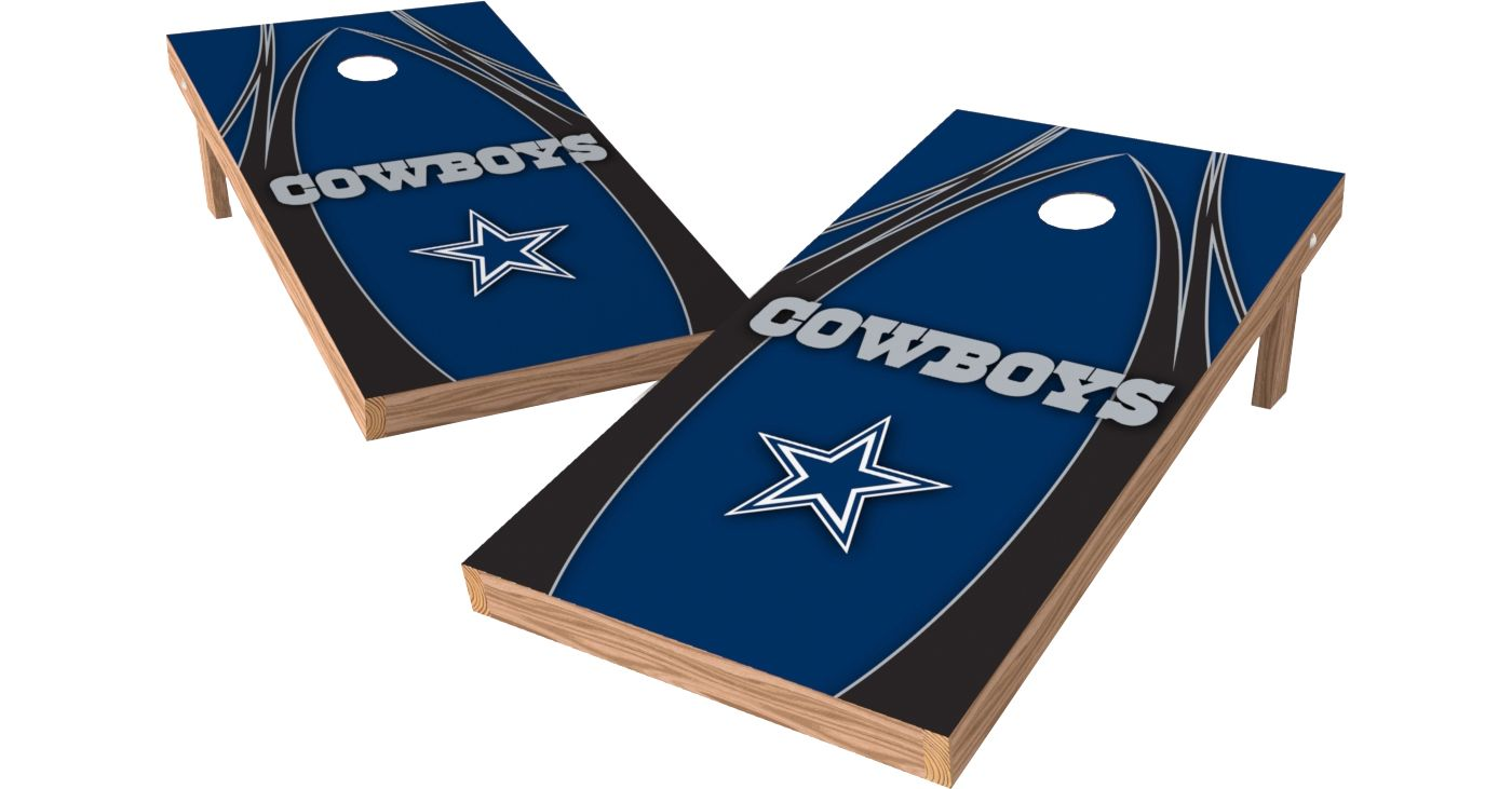 Wild Sports 2' x 4' Dallas Cowboys XL Tailgate Bean Bag Toss Shields