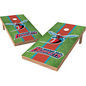 Wild Sports 2' x 4' Delaware State Hornets XL Tailgate Bean Bag Toss Shields