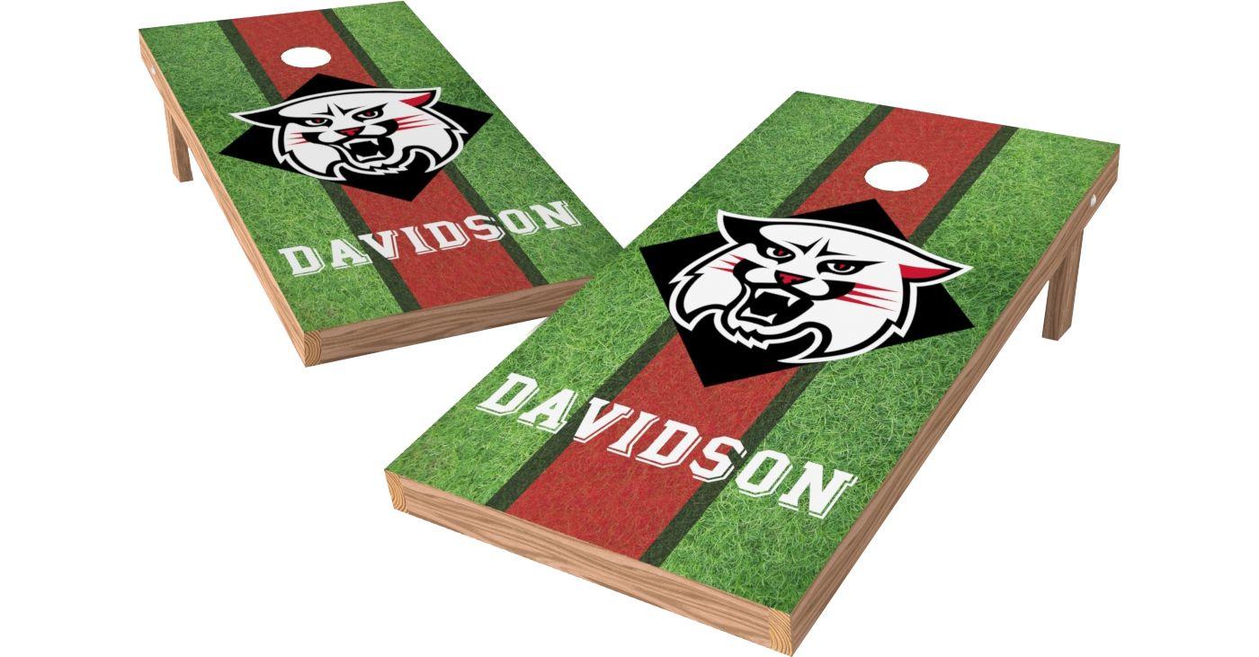 Wild Sports 2' x 4' Davidson Wildcats XL Tailgate Bean Bag Toss Shields