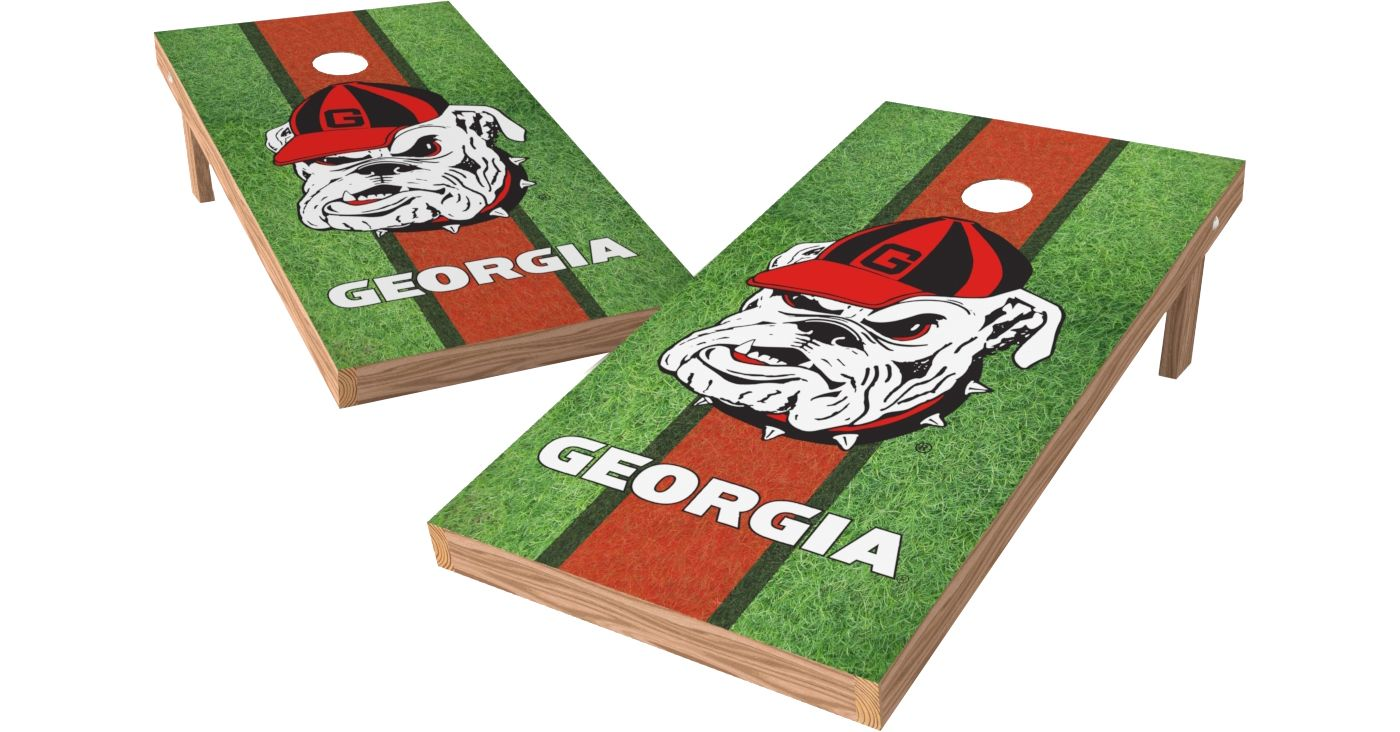 Wild Sports 2' x 4' Georgia Bulldogs XL Tailgate Bean Bag Toss Shields