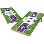 Wild Sports 2' x 4' Holy Cross Crusaders XL Tailgate Bean Bag Toss Shields