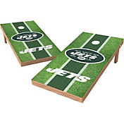 Wild Sports 2' x 4' New York Jets XL Tailgate Bean Bag Toss Shields