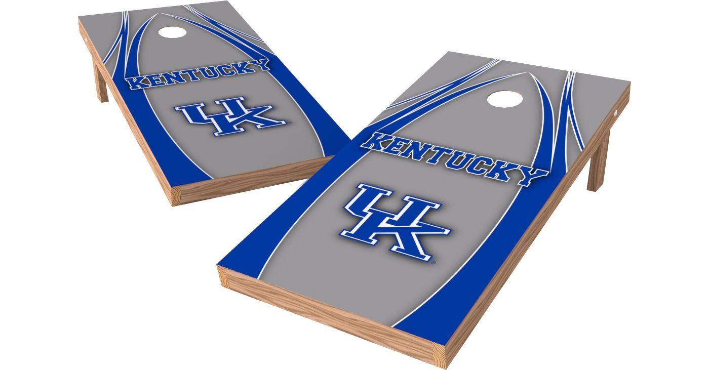 Wild Sports 2' x 4' Kentucky Wildcats XL Tailgate Bean Bag Toss Shields