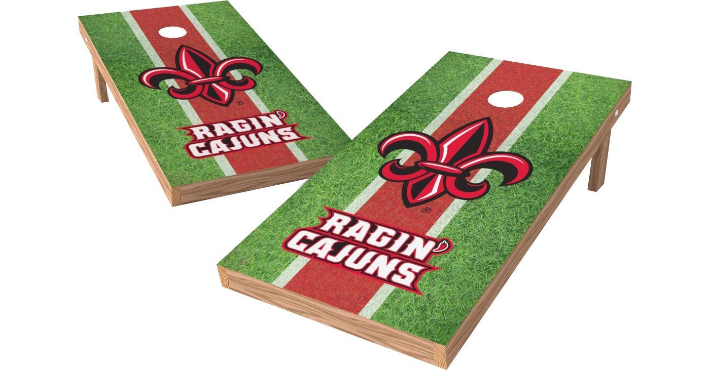 Wild Sports 2' x 4' Louisiana Ragin' Cajuns XL Tailgate Bean Bag Toss Shields