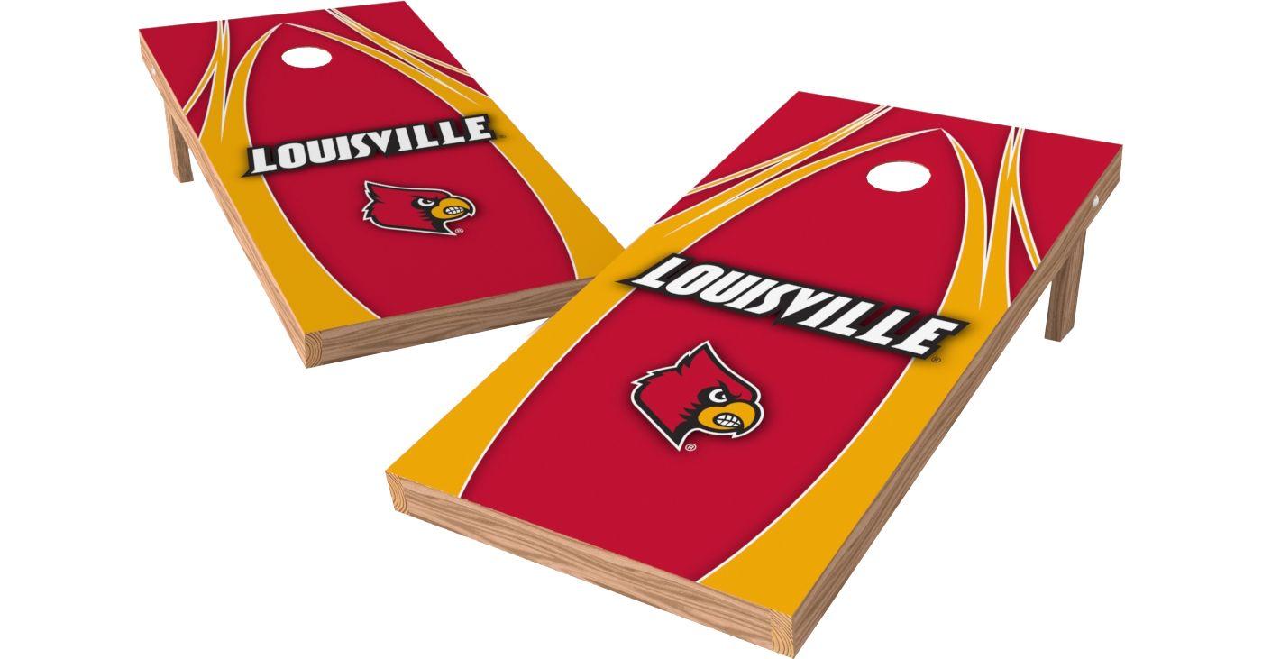 Wild Sports 2' x 4' Louisville Cardinals XL Tailgate Bean Bag Toss Shields
