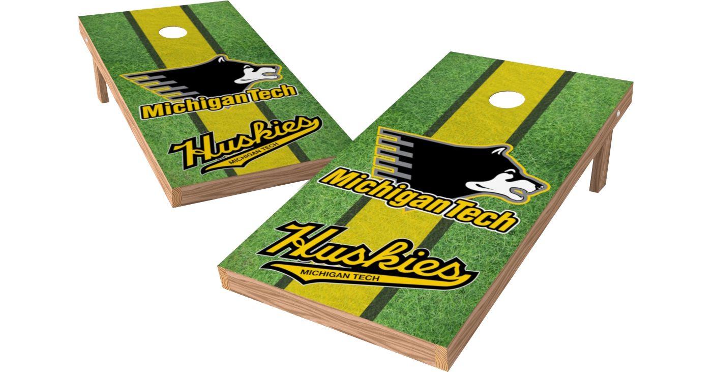 Wild Sports 2' x 4' Michigan Tech Huskies XL Tailgate Bean Bag Toss Shields