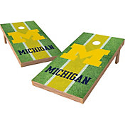 Wild Sports 2' x 4' Michigan Wolverines XL Tailgate Bean Bag Toss Shields
