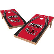 Wild Sports 2' x 4' Miami Redhawks XL Tailgate Bean Bag Toss Shields