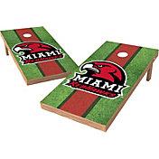 Wild Sports 2' x 4' Miami Redhawks XL Tailgate Bean Bag Toss Shields
